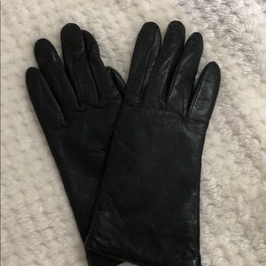 Nordstrom Leather Gloves with cashmere lining